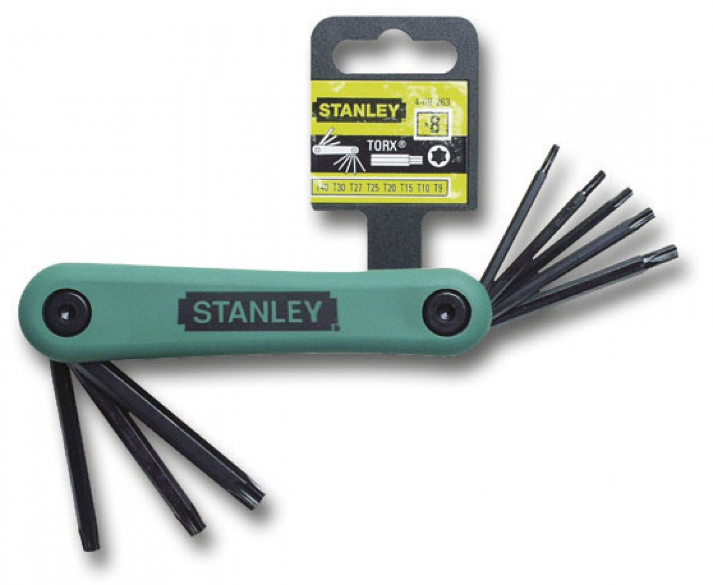 8-PIECE MALE TORX KEY SET