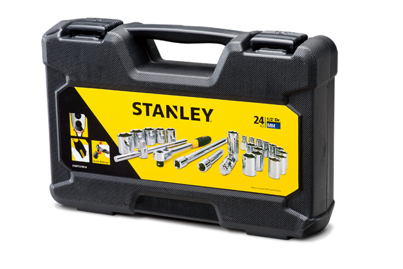 "1/2"" DR. SOCKET SET - 24PC"