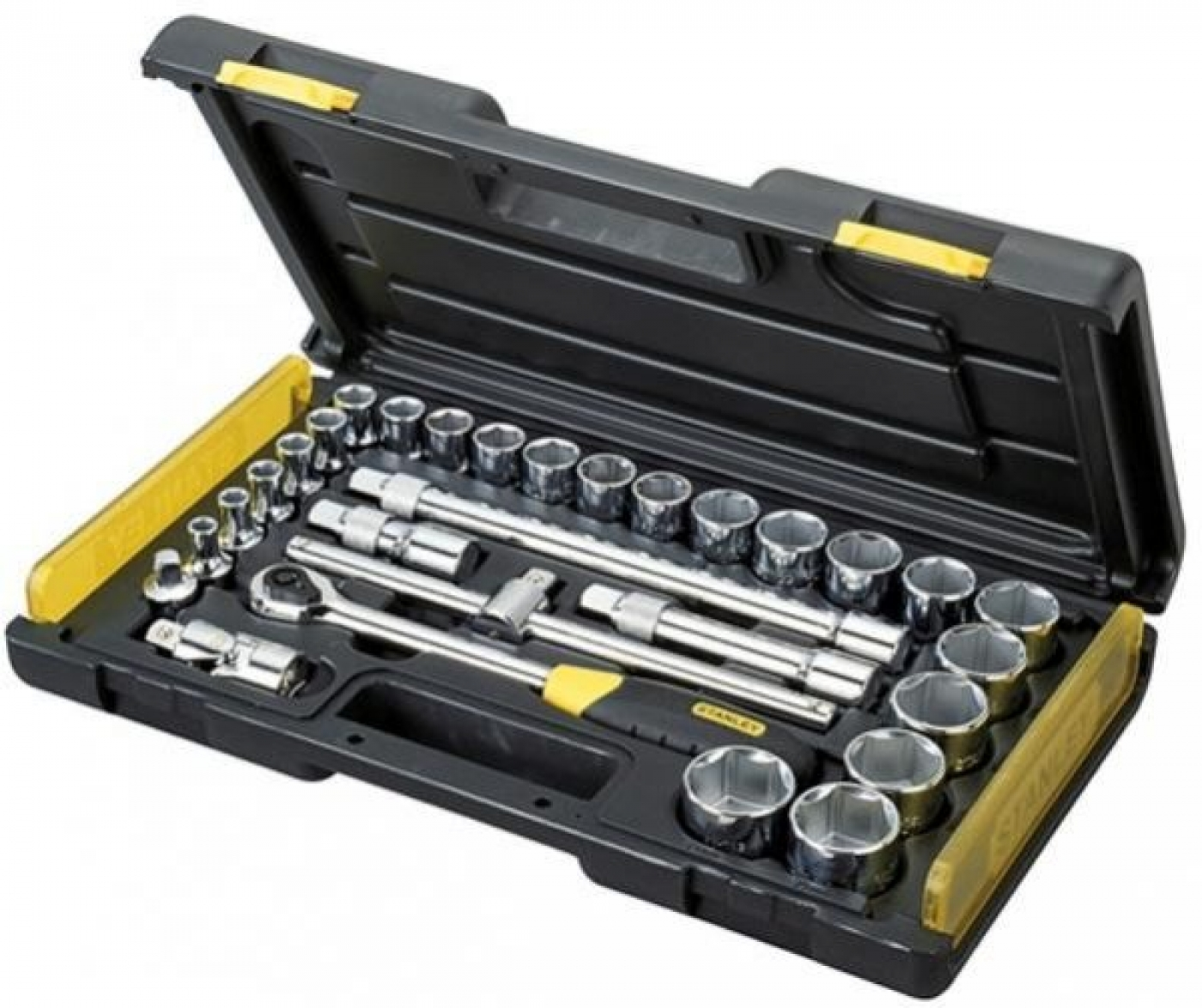 29-PIECE 1/2'' MICRO TOUGH SOCKET SET