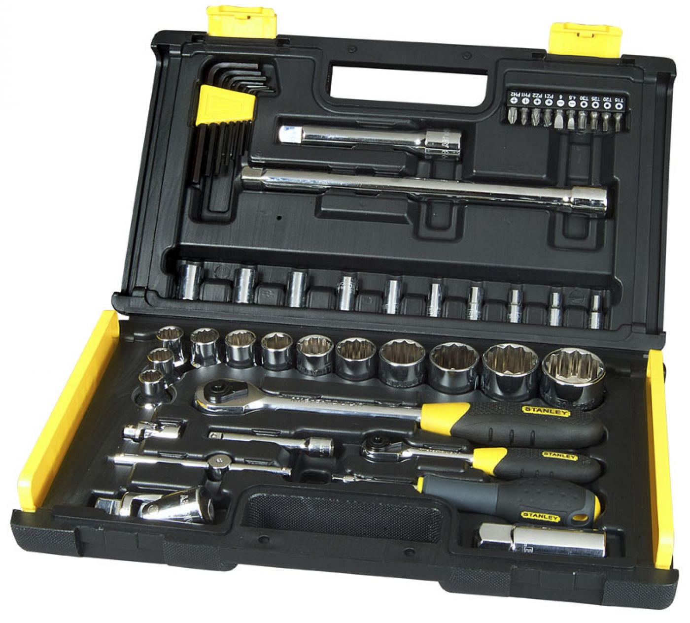 50-PIECE 1/4 & 1/2 UPTIER SOCKET SET