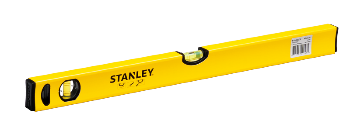 STANLEY® CLASSIC BOX-BEAM LEVELS (60CM)